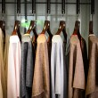Tunics on  on hangers — Stock Photo