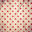 Seamless Background with red Polka Dot pattern — Stock Photo
