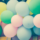 Vintage balloons background — Stockfoto