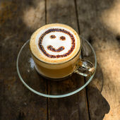 Happy coffee time, natural light. — Foto de Stock