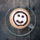 Happy coffee time, natural light. — Foto Stock