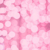 Pink abstract glitter bokeh lights. defocused lights background. — Stock Photo