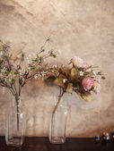 Bouquet of roses flowers, still life. — Stock Photo