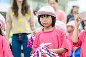 Asian girl at Sport day parade, Hua Hin Thailand. — Stock Photo