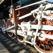 Wheel mechanism of train — Stock Photo #13222909