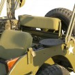 "American military ""jeep"" ( model of the 1940 — Stock Photo"