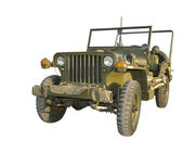 "Military ""jeep"" ( model of the 1940 — Stock Photo"