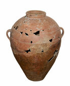 Jug, 5 centuries — Stock Photo