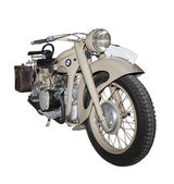 Elite motorcycle from Germany last century — Stock Photo