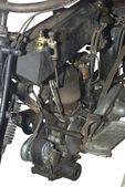 Il motore di una moto del 1900 — Foto Stock