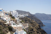 View of Santorini's island — Stock Photo
