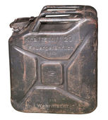 The German canister since the 2nd World War — Stock Photo