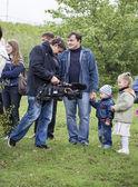 Rostov del Don, Rusia-septiembre 21 - operador de video elimina la — Foto de Stock