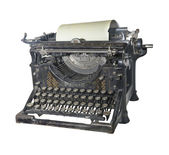The typewriter of the beginning of 20 centuries — Stockfoto