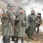 Rank German fascist soldiers — Stock Photo #41379331