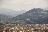 View of Florence with the Duomo — Foto Stock