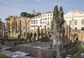 Roman Forum. Here there was the social life of the city. Rome — Stock fotografie