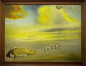 "Dali Painting""The Wash Basin (stereoscopic work, right componen — Stock Photo"