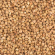 Buckwheat groats fullscreen background — Stock Photo