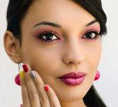 Piękny makijaż — Zdjęcie stockowe