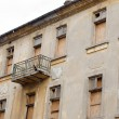 Stock Photo: Old building facade,abandoned house
