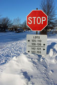 Snow Stop — Stock Photo