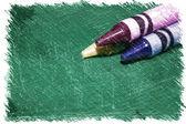 Crayon Scribble — Stock Photo