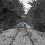 Walking the Tracks — Stock Photo #12762751