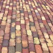 Brick Sidewalk — Stock Photo