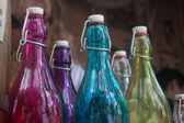 Bottles of a different color — Stock Photo