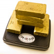 Worth Your Weight In Gold — Stock Photo