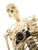Fotograf mrtvých zombie — Stock fotografie