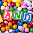 Candy Assortment — Stockfoto