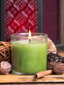 Spa Candle Still life — Stock Photo