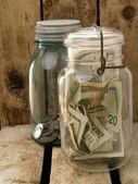 Hiding Money — Stock Photo