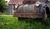 Rusty old pickup truck — Stock Photo