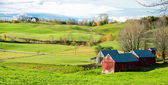 Vermont Farm Landscape — Stock Photo