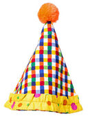 Circus Clown Hat Isolated — Stock Photo