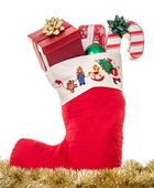 Christmas Stocking — Stok fotoğraf