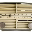 Old AM FM Radio — Stock Photo