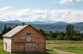 Barn in upstate New York — Stock Photo