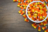 Candy Corn Border — Stock Photo