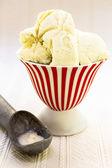 Vanilla Bean Ice Cream — Stock Photo