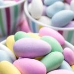Colorful pastel jordan almond candy — Stock Photo #30969251