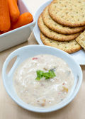Delicious Vegetable Dip — Stock Photo
