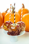 Candied Apples — Stock Photo