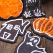 Halloween Sugar Cookies — Stock Photo