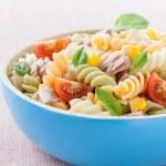 Bowl of pasta salad — Stock Photo #12208584