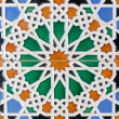 Stock Photo: Moorish tiles