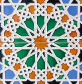 Moorish tiles — Stock Photo